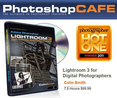 [Video Tutorial]PhotoshopCafe Lightroom 3 for Digital Photographers Interactive DVD Tutorial + eBook