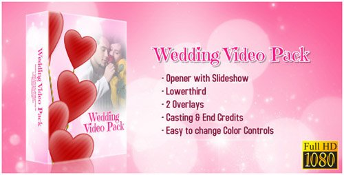 Videohive Wedding Video Package 5457161 ( 6 After Effects Projects) CS4