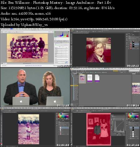 creativeLIVE Photoshop Mastery: Image Ambulance