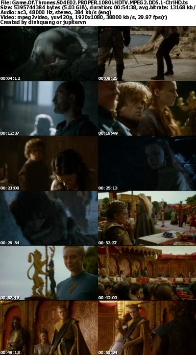 Game of Thrones S04E02 PROPER 1080i HDTV MPEG2 DD5.1-CtrlHD