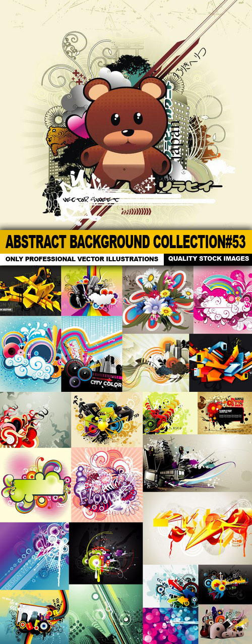 Abstract Background Collection set 53