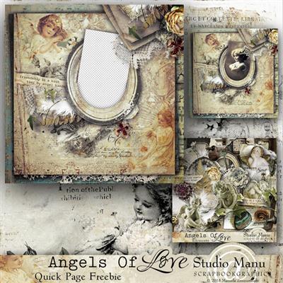 Mini Scrap Kit: Angels Of Love