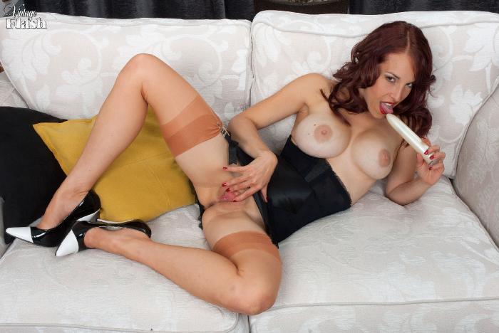 Aside! Jessica pressley pantyhose vintage stockings and heels