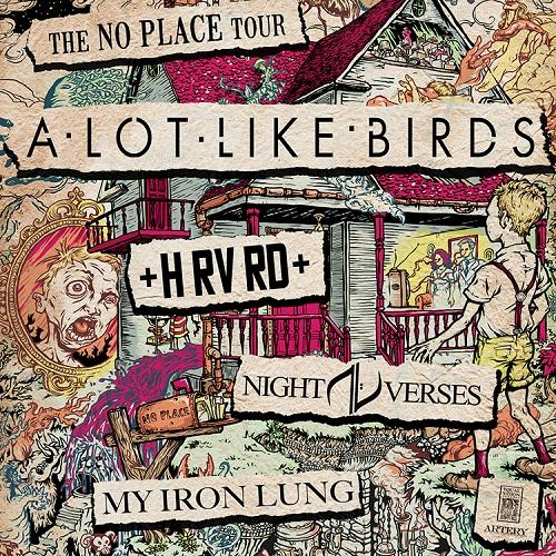 A Lot Like Birds - No Place (2013)