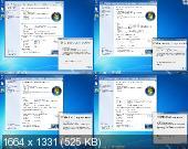 Windows 7 SP1 x86/x64 Ru 4 in 1 Origin-Upd 11.2013 by OVGorskiy 2DVD (RUS/2013)
