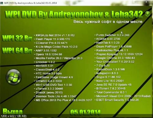 WPI DVD 05.01.2014