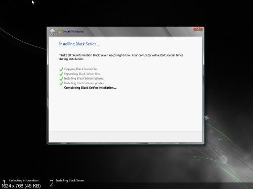 Windows Black 7 Platinum x64 New Updates Included