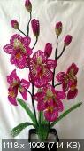 Мои цветочки из бисера Fedd689064eb4a8d8f5a90e35a4a5c52