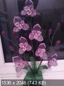 Мои цветочки из бисера 94a977d4edff31631999f3c19bafde62