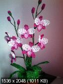 Мои цветочки из бисера 993646980bc4be9774d97861f7ae4c6a