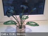 Мои цветочки из бисера 87605ef2facf1eb910f1c7871779800e