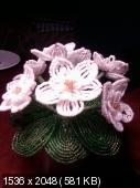 Мои цветочки из бисера 92ec276738af7d8f90905ed884eb991b