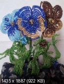 Мои цветочки из бисера 6bee324ad617f227b9c24864456fb722