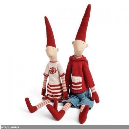 Скандинавские куклы своими руками 27