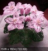 Мои цветочки из бисера D2295d9d8bd0757404dd42b77065d886