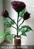 Мои цветочки из бисера B8ed2239fe08b3f8e31c7a0db8a513cc