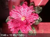 Мои цветочки из бисера Cef2d5f84d0710ace68e4c4adbb452cc