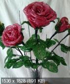 Мои цветочки из бисера 5fcc076d47e4db5044c2380c1060dbf2