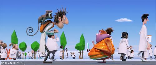�������, �������� ������: ����� ��� / Cloudy 2: Revenge of the Leftovers (����� ������� / Cody Cameron, ���� ���� / Kris Pearn) [2013 �. BDRip-AVC] ��������