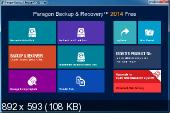 Paragon Backup & Recovery 2014 Free 10.1.21.287 (x86/x64)