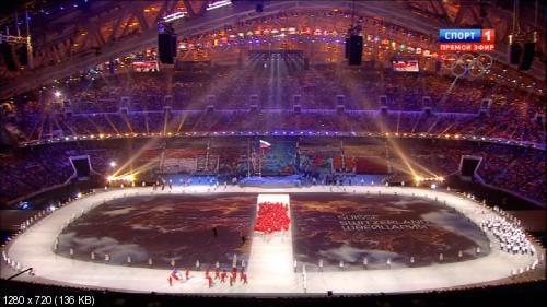Церемония открытия XXII Зимних Олимпийских игр в Сочи (2014) HDTV 720p