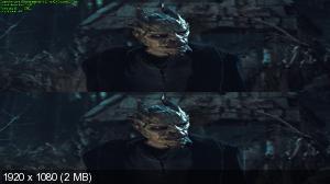 Без черных полос (На весь экран) Я, Франкенштейн 3Д / I, Frankenstein 3D ( by Ash61) Вертикальная анаморфная