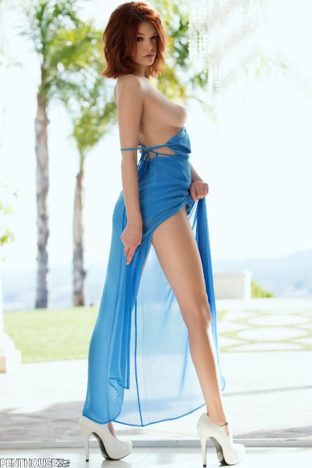 Penthouse: Bree Daniels - Into The Blue (29*03*2014)