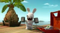 Бешеные Кролики: Вторжение / Rabbids Invasion / Сезон: 1 / Серии: 1-13 (20) [2013, Комедия, WEB-DL 1080p] Dub [Nickelodeon] MVO [VO-production] + Subs