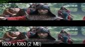 47 pонинoв в 3Д / 47 Rоnin 3D (2013) BDRip 1080p 3D/ 8.29 Gb [Half OverUnder / Вертикальная анаморфная стереопара]