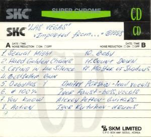 Группа Las Vegas (англоязычный проект) - Imported From... (1998)