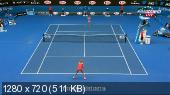 ������. Australian Open 2015. 1/4 ������. ����� ����� - ����� �������� [27.01] (2015) HDTVRip 720p