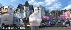 ����� ������ / Big Hero 6 (2014) DVDScr-AVC | DUB | ������ ����