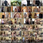 CollegeFuckParties - Aspen, Berta, Milana, Pandora - Terrific College Sex Party Part 1 [HD 720p]