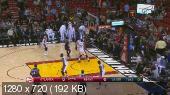 Баскетбол. NBA 14/15. RS: Atlanta Hawks @ Miami Heat [28.02] (2015) WEB-DL 720p | 60 fps