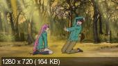 Крестик + Вампир  / Rosario + Vampire [1-13 серии из 13] (2008) HDTVRip 720p | VO