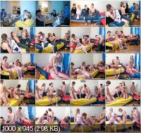 YoungSexParties - Karina, Helga, Nancy - The Depraved Side Of Student Life [SD]