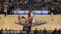 ���������. NBA 14/15. RS: Houston Rockets @ New Orleans Pelicans [25.03] (2015) WEB-DL 720p   60 fps