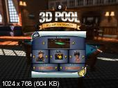 3D Pool Billiards and Snooker.Portable(2015)
