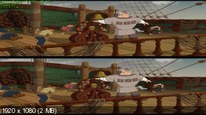 Три богатыря: Ход конем 3D (Лицензия by Ash61) Вертикальная анаморфная