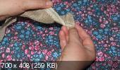 Цветы из мешковины, джута, шпагата 6846034250a1b439639875d5e9c8fb2a